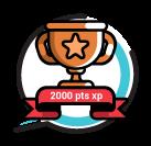 2,000 XP